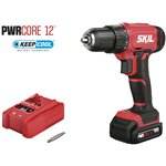TRAPANO BATTERIA SKIL 2740AA RED LINE PWRCORE 12V