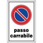 CARTELLI PASSO CARRABILE 30X20