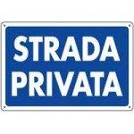 CARTELLI STRADA PRIVATA 30X20