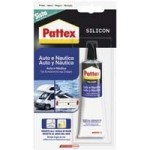 SILICONE PATTEX AUTO-NAUT.NERO ML50