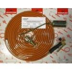 KIT CANNELLO GAS CON TUBO GPL ARANCIO EN559